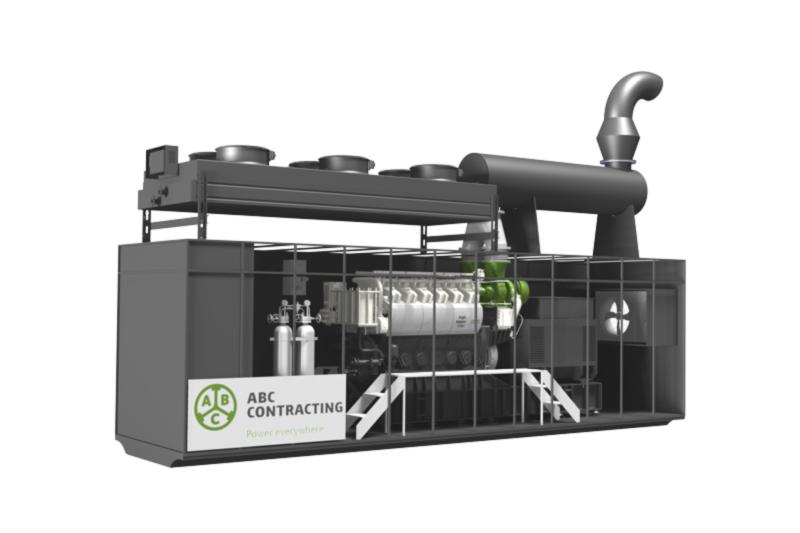 Groupe électrogène conteneurisé ABC CONTRACTING