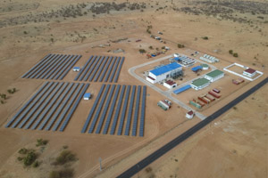 Hybrid Power Plant in Kiffa (MRT)