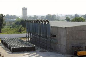 Centrale thermique Brazzaville 32MW (COG)